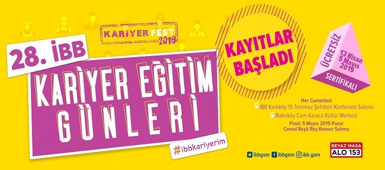 İstanbul'da 'Kariyer Eğitim Günleri' 23 Kasım'da başlıyor