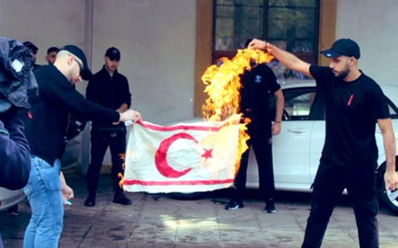 Dışişleri Bakanlığı'ndan Güney Kıbrıs'a 'bayrak' tepkisi