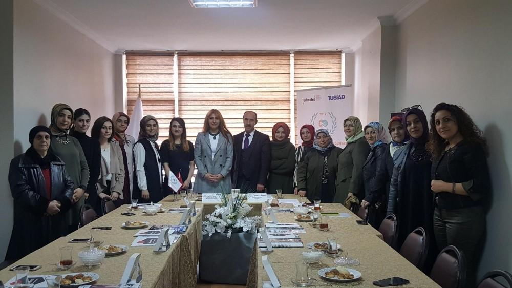 Erzurum'da iş dünyasında kadın sayısını artırmaya yönelik komisyon kuruldu