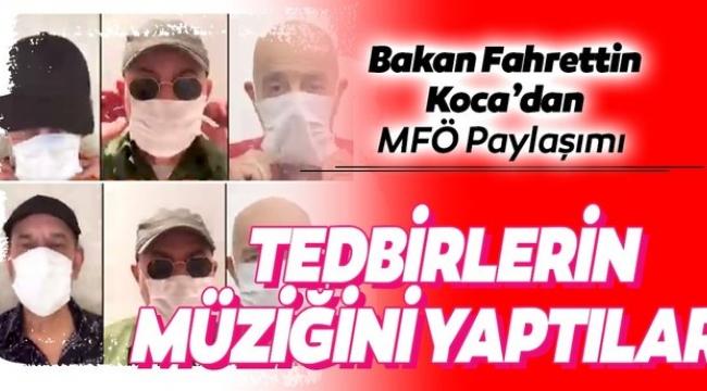 Sağlık Bakanı Koca'dan 'Mazhar Fuat Özkan' paylaşımı