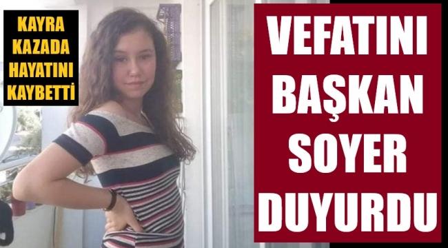 Bando şefinin kızı Kayra kazada yaşamını yitirdi