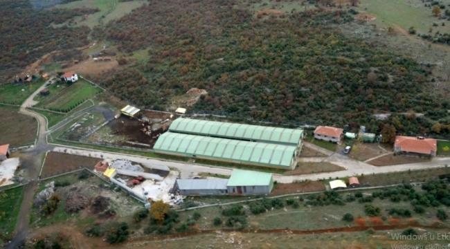 Milletvekilinin çiftliğinde 15 kaçak yapı