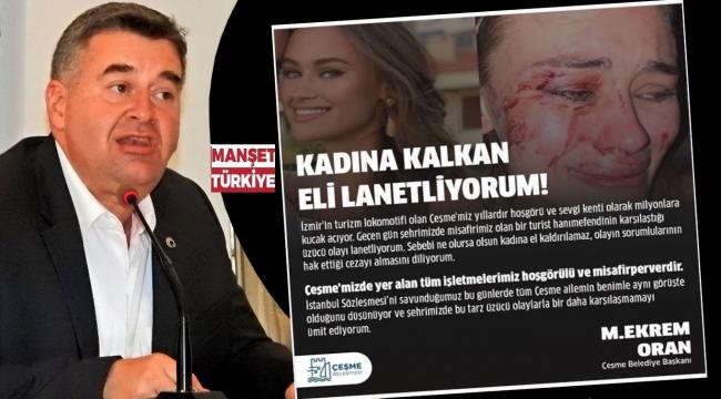 Başkan Oran'dan tepki