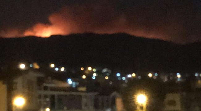 Menderes'teki yangın Ahmetbeyli'ye sıçradı