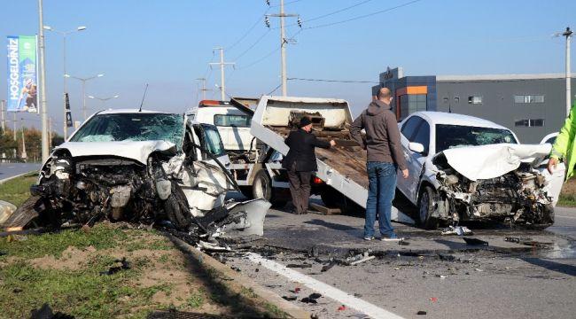 Kaza öncesi radara giren öğretmen hayatını kaybetti
