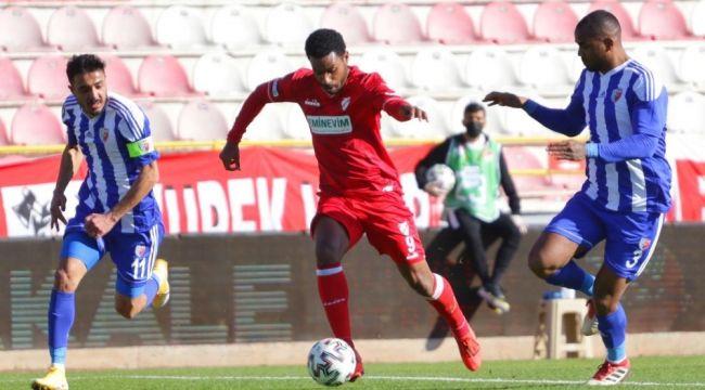 TFF 1. Lig: Boluspor: 2 - Ankaraspor: 0