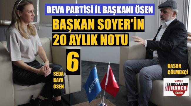 DEVA İl Başkanı Ösen: Babacan bana dedi ki..
