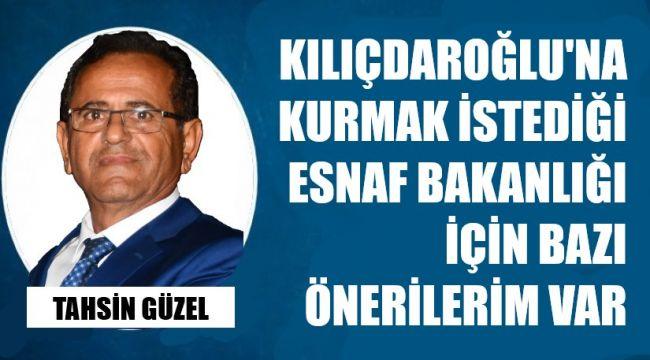 Kılıçdaroğlu'na 'esnaf' önerileri