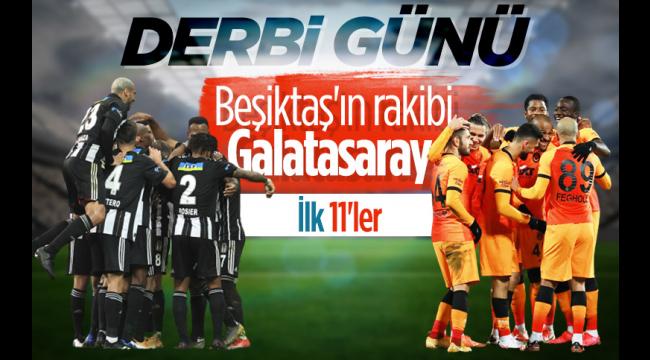 Beşiktaş ile Galatasaray stada geldi