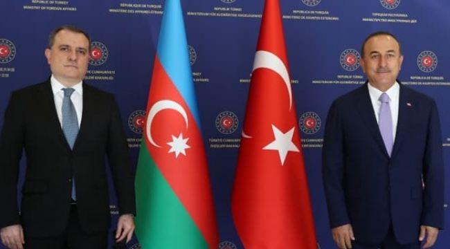 Çavuşoğlu, Azerbaycan Dışişleri Bakanı Bayramov ile telefonda görüştü
