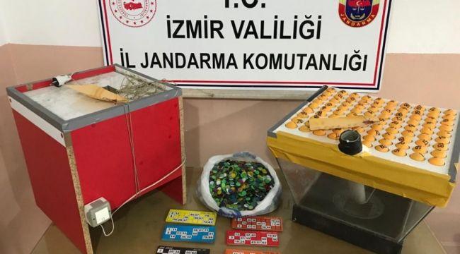 İzmir'de kumar operasyonu: Tam 59 kişi