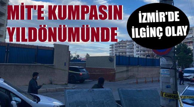 İzmir Yeşilyurt'ta ilginç olay