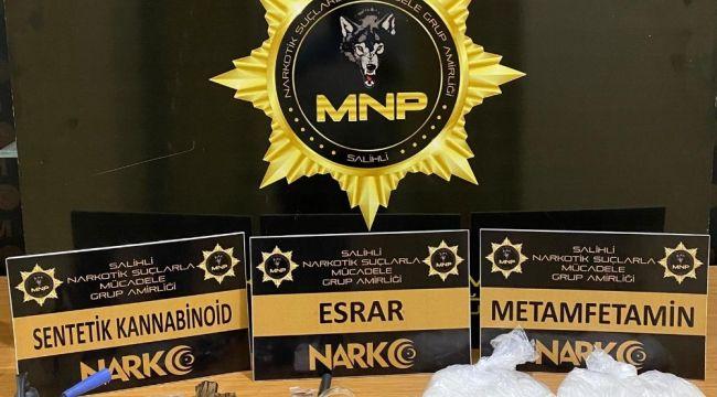 Manisa'da 700 bin TL değerinde metamfetamin ele geçirildi