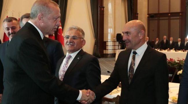 Başkan Soyer: Cumhurbaşkanı Erdoğan başımızın üzerinde