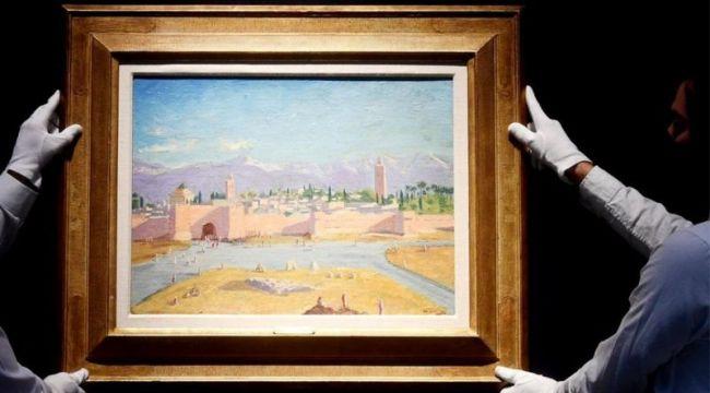 Churchill tablosu 7 milyon sterline satıldı
