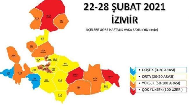 İzmir'in en risksiz ilçeleri Çeşme ve Seferihisar