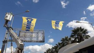 Buca'ya bayrak desteği