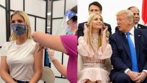 Ivanka Trump'a aşı tepkisi
