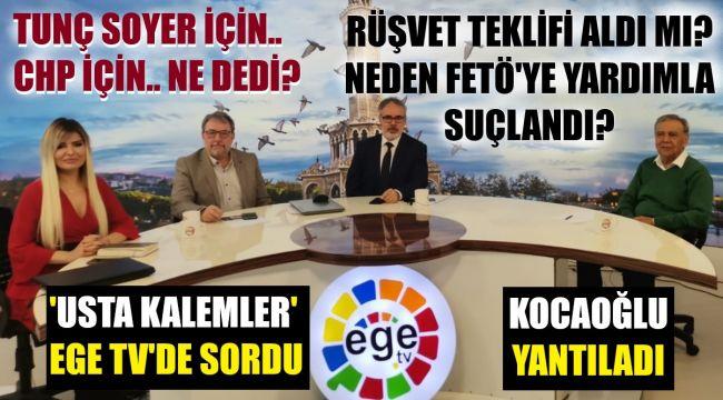 İzmir'i 15 yıl yöneten Aziz Kocaoğlu ilk kez açıkladı
