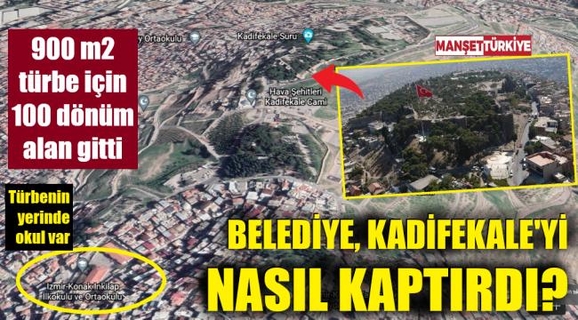 109 dönümlük Kadifekale, 900 metrekarelik türbe için belediyeden gitti