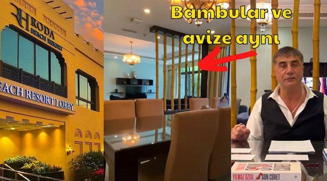 Sedat Peker'in Dubai'de kaldığı otel deşifre oldu!
