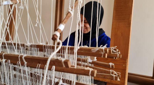 500 yıllık Tire dokuması modaya uyarlanıyor