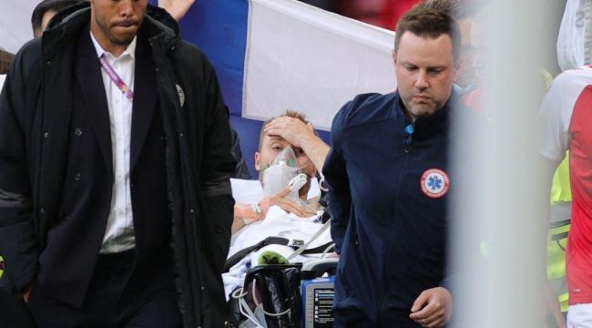 Danimarka, Eriksen'in moral bozukluğuyla maçı kaybetti