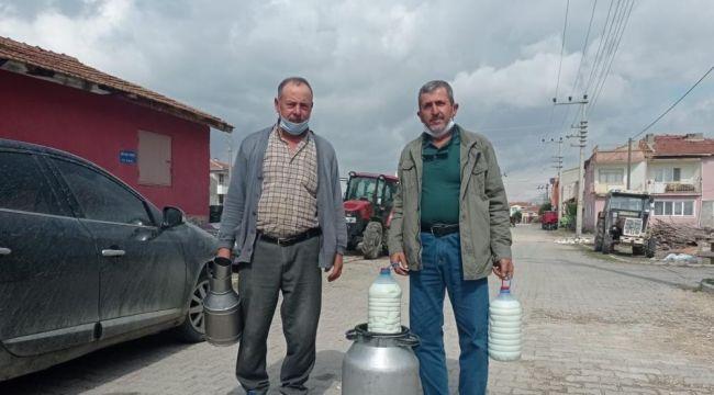 Denizli Büyükşehir'den süt üreticilerine büyük destek