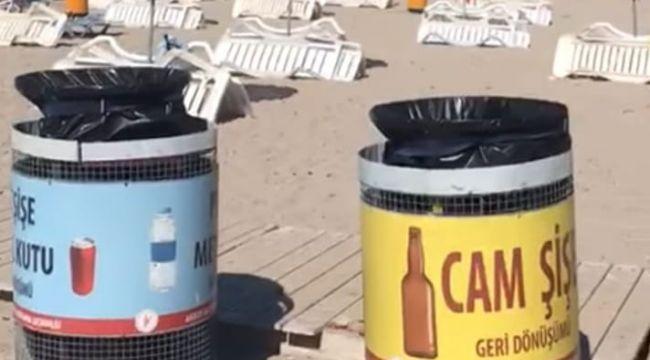 Altınköy plajında örnek proje