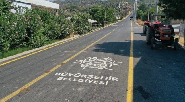Aydın Büyükşehir Belediyesi yol çalışmalarında hız kesmiyor