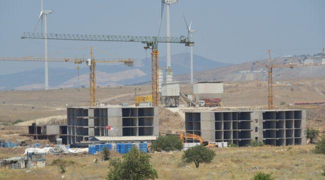 TOKİ'nin Aliağa'da 614 konutluk projesi sürüyor