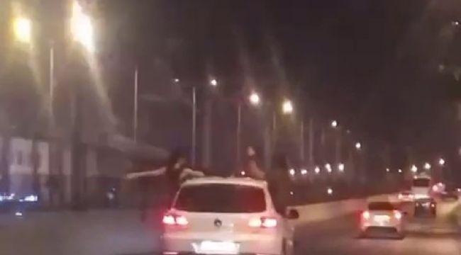 Trafikteki tehlikeli yolculuklar pes dedirtti