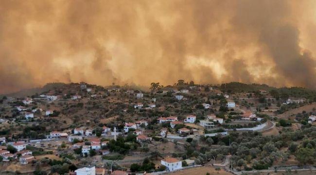 Başkan, Bodrum'daki yangınla ilgili son durumu anlattı