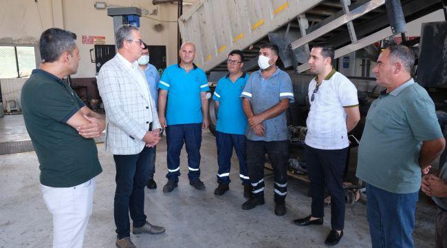 Gaziemir Belediyesi'nde tasarruflu hizmet