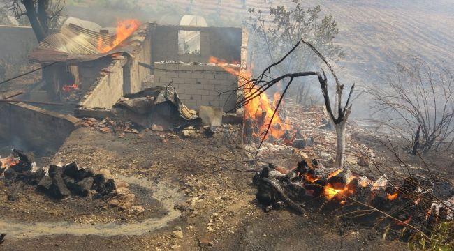 Isparta Sütçüler'deki yangın büyüyor