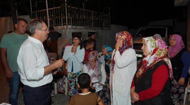 Köy ziyaretleriyle sorunun kaynağında çözüm