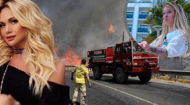Utanmaz! O kadar ateşliyim ki her şey yanıyor