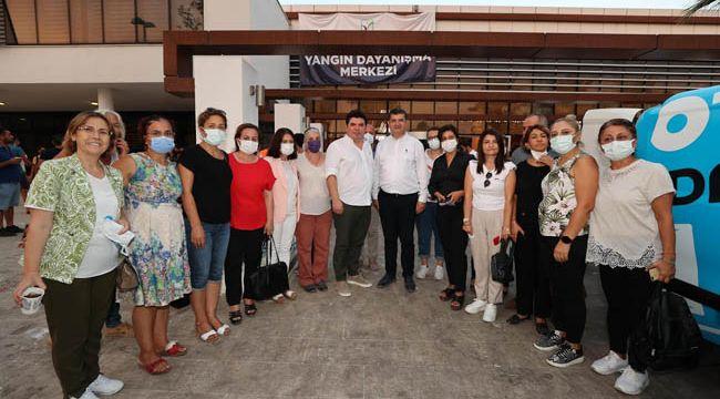 Yangınlara karşı Buca ve Antalya tek yürek