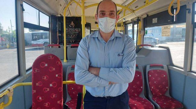 Belediye otobüsü güzergahtan çıkıp bebeği hastaneye yetiştirdi