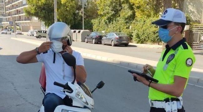 İzmir'de 448 motosikletliye ceza kesildi