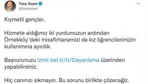 İzmir'de üniversiteli gençler için kampanya