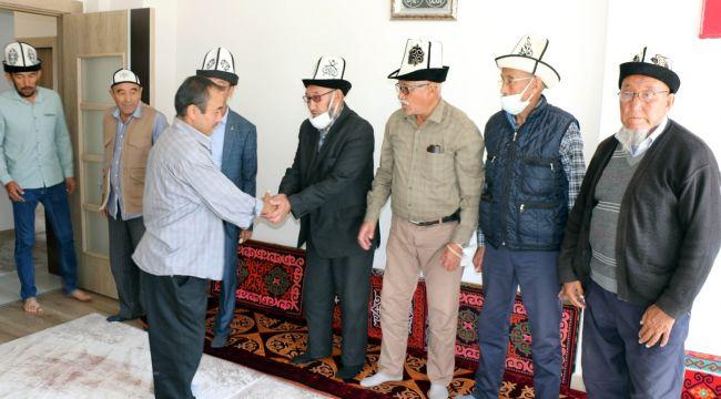 Kırgızlar, Türkiye'de olmaktan mutlu
