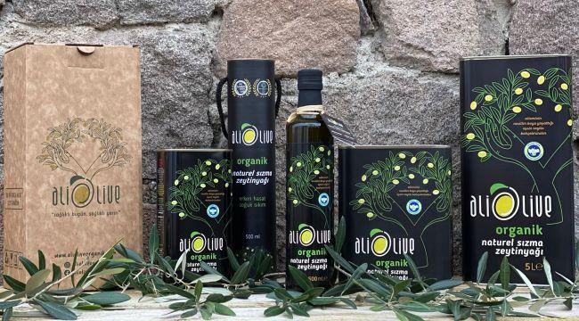 Organik zeytinyağının 'altın' markası: Aliolive