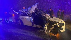 CHP'li Belediye Başkanı kaza yaptı: 1 ölü, 2 yaralı