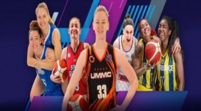 'Gururla Kadın' kampanyası Kadınlar Euroleague'de başladı