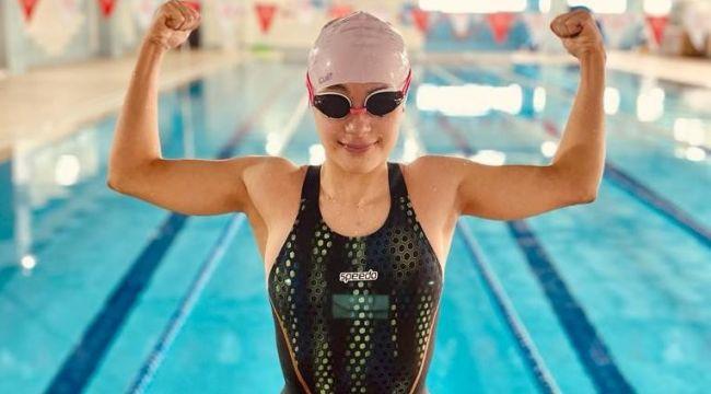 Milli sporcu Ada Zehra'dan 4 dünya rekoru