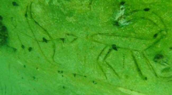 Su altındaki tarihi mekanın dinsel alan olduğu tahmin ediliyor