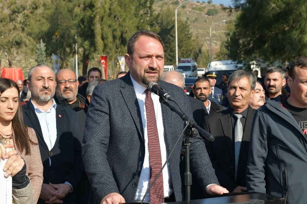 Başkan Gümrükçü'den Ali Rıza Koçer'e yönelik silahlı saldırıya sert tepki