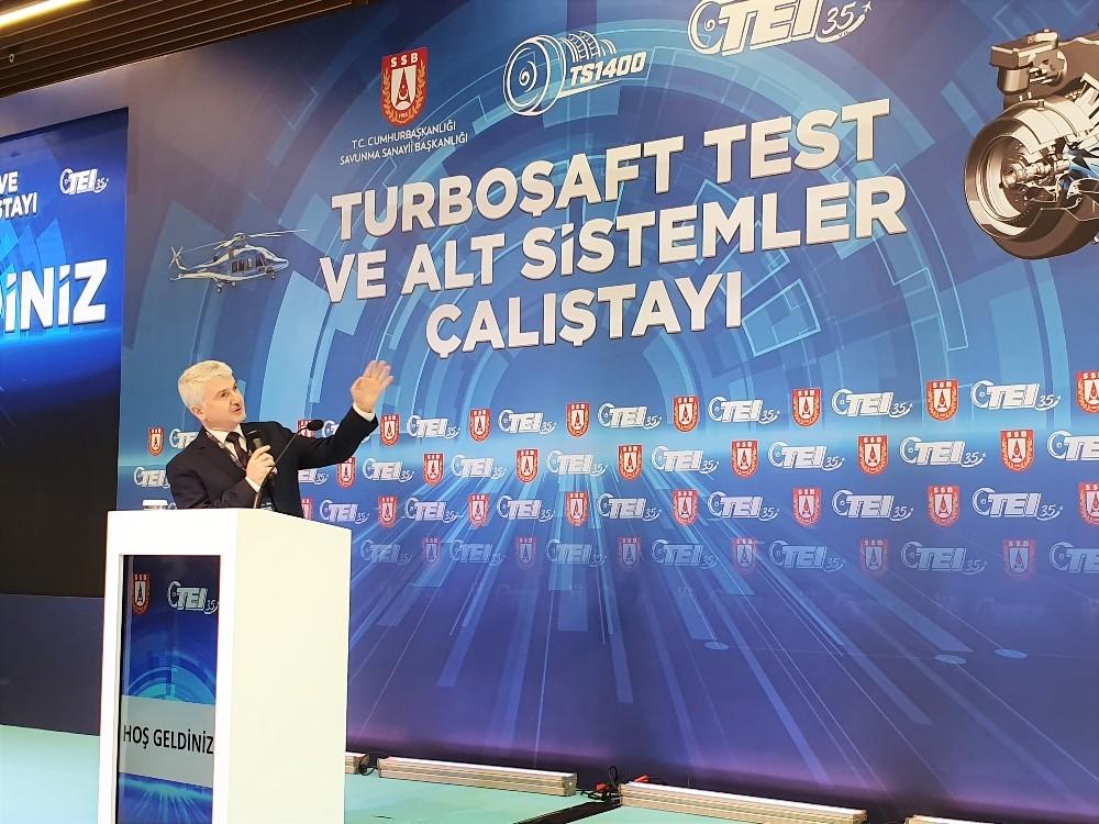 İlk yerli ve millî helikopter motoru TS1400 için çalıştay