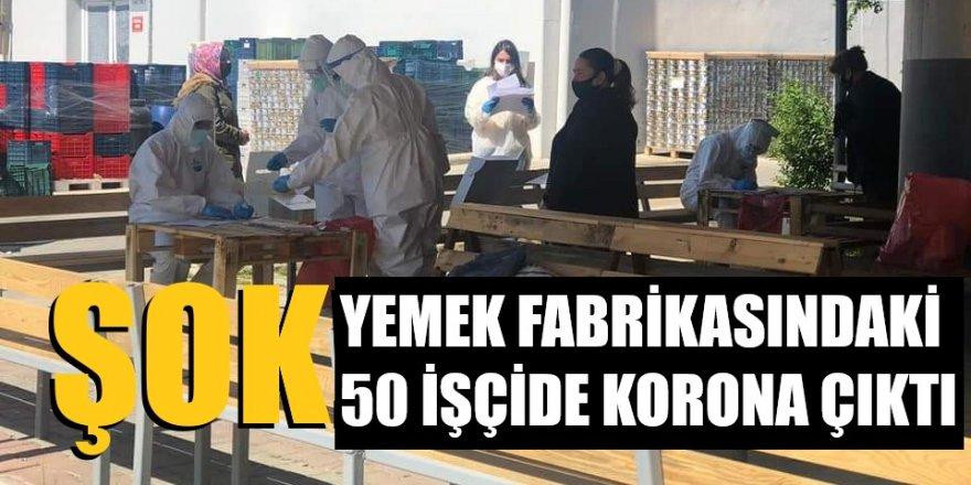 Yemek fabrikasında 50 işçide korona virüs çıktı iddiası